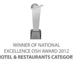 NATIONAL EXCELLENCE OSH AWARD 2012